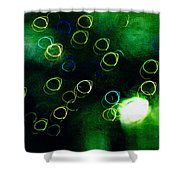 Mystic Lights 11 Shower Curtain
