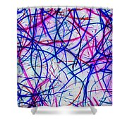 Mystic Lights 3 Shower Curtain