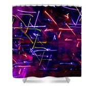 Mystic Lights 8 Shower Curtain