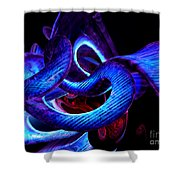 Mystic Love Abstract Shower Curtain