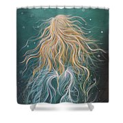 Mystic Mermaid Shower Curtain