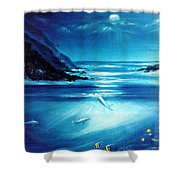 Mystic Moonlight  Shower Curtain