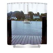 Mystic Seaport #3 Shower Curtain