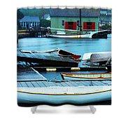Mystic Seaport #5 Shower Curtain