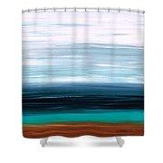 Mystic Shore Shower Curtain