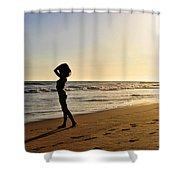 Mystic Sunset Shower Curtain