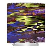 Mystic Topaz Shower Curtain