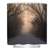 Mystic Trail Shower Curtain