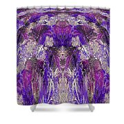 Mystic Waterfall - Purple Hues Shower Curtain
