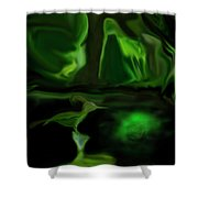 Mystic Wetlands Shower Curtain