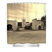 Mystical Chapel Shower Curtain