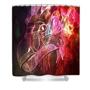 Mystical Dragon 2 Shower Curtain