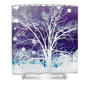 Mystical Dreamscape Shower Curtain