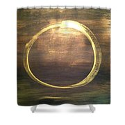 Mystical Enso Shower Curtain