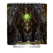Mystical Flower Shower Curtain