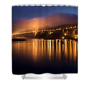 Mystical Golden Gate Bridge Shower Curtain
