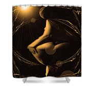 Mystical Moon Shower Curtain