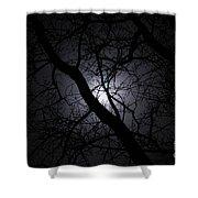 Mystical Moon Shower Curtain