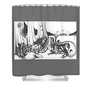 Mystical Riverbed Shower Curtain