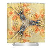 Mystical Spirals Shower Curtain