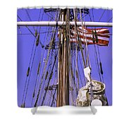 Mystic's Masts Shower Curtain