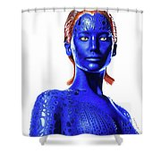Mystique Drawing Shower Curtain