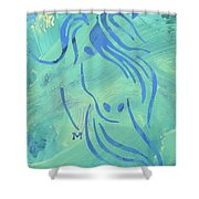 Mystique Shower Curtain by Candace Shrope