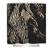 Mythical Angels From History Past Shower Curtain