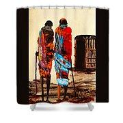 N 100 Shower Curtain