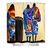 N 103 Shower Curtain