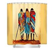 N 106 Shower Curtain