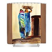 N 110 Shower Curtain