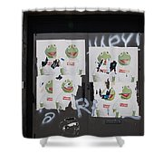 N Y C Kermit Shower Curtain