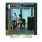 N Y C Subway Scene # 13 Shower Curtain