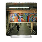 N Y C Subway Scenes # 45 Shower Curtain