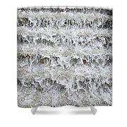 N Y C Waterfall Shower Curtain