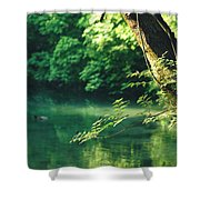 N001 Impression 4k Shower Curtain