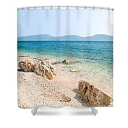 N007 New Sky Shower Curtain