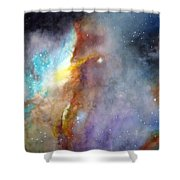 N11b Large Magellanic Cloud Shower Curtain