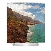 Na Pali Coast 5 Shower Curtain