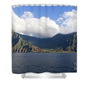 Na Pali Coast Kauai Shower Curtain