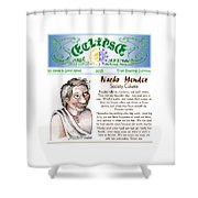 Real Fake News Society Column 1 Shower Curtain
