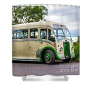Nae 3 - Bristol L6b Coach Shower Curtain