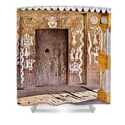 Nag Temple Doorway - Huri India Shower Curtain