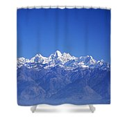 Nagarkot View Shower Curtain