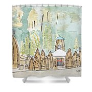 Nagesh Jyotirling Shower Curtain