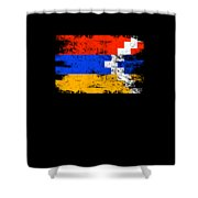 Nagorno Karabakhs Shirt Gift Country Flag Patriotic Travel Asia Light Shower Curtain