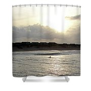 Nags Head Nc Surf Shower Curtain