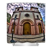 Naguanagua Church Smile Jesus Shower Curtain