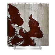 Nakato And Babirye - Twins 2 - Tile Shower Curtain